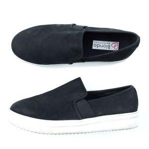 Blondo Black Suede Waterproof Gracie Sneakers Shoe